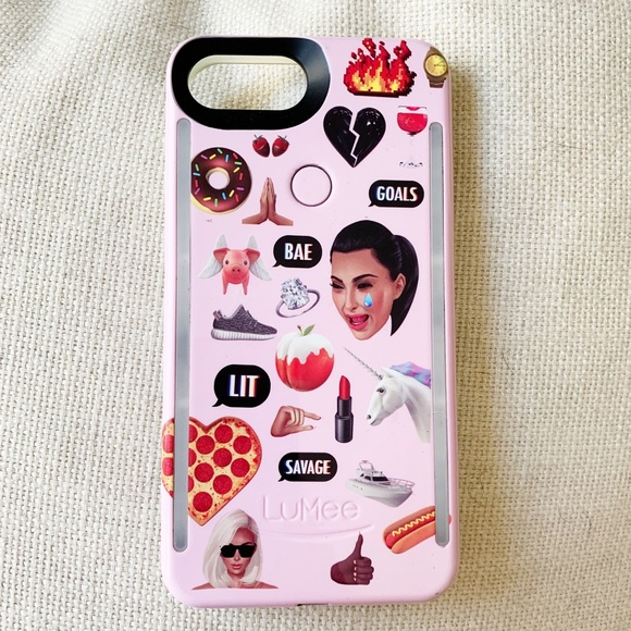 newest collection b2e77 fe555 Authentic KIMOJI Lumee iPhone 8+ case